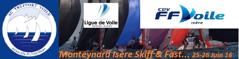 Monteynard Skiff – Trophée Breizhskiff Isère Logo